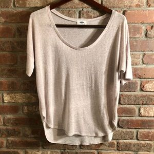 Taupe Old Navy Sweater